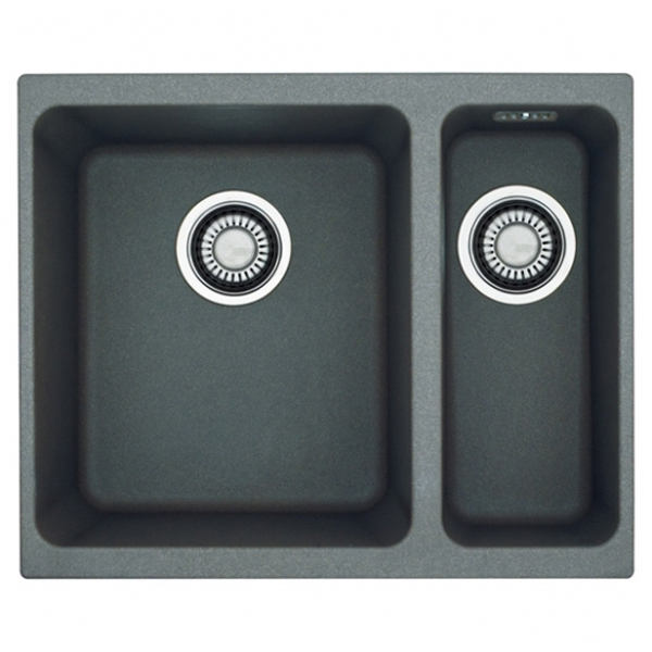 Franke Grey Sink : Franke undermount sink Kubus KBG 160 Fragranite DuraKleenPlus / stone ...