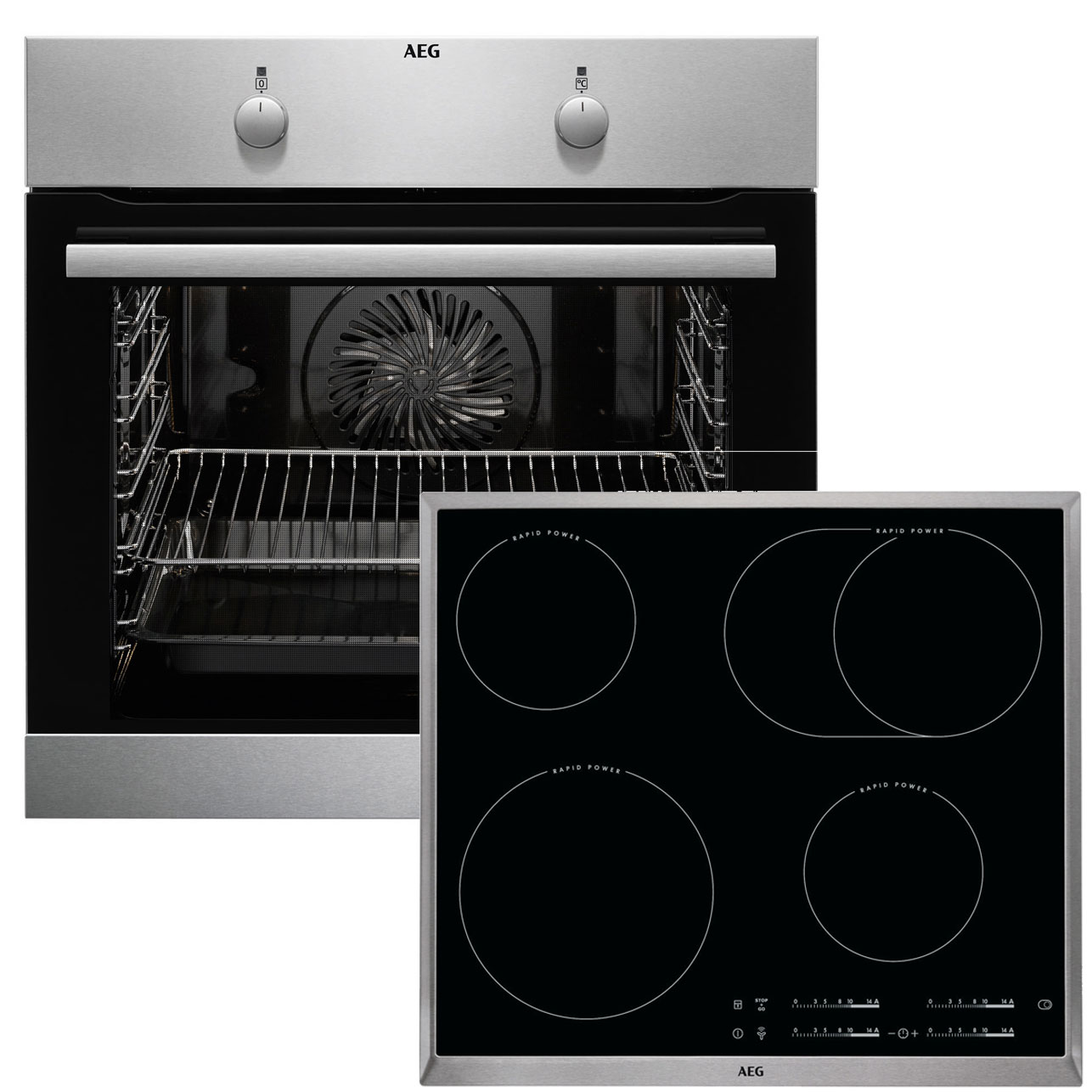 aeg beb232 backofen set beb230010m backofen hk654850x b autark ceran kochfel ebay. Black Bedroom Furniture Sets. Home Design Ideas