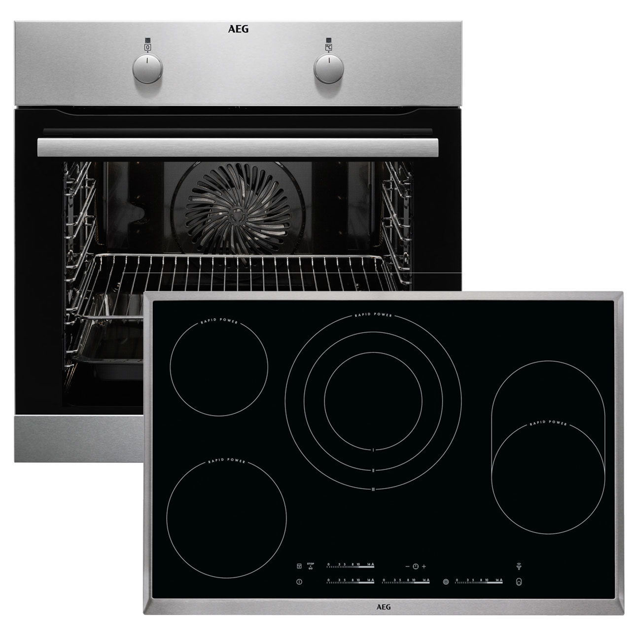 aeg beb233 backofen set 944187701 beb230010m backofen hk854870x b autark cer ebay. Black Bedroom Furniture Sets. Home Design Ideas