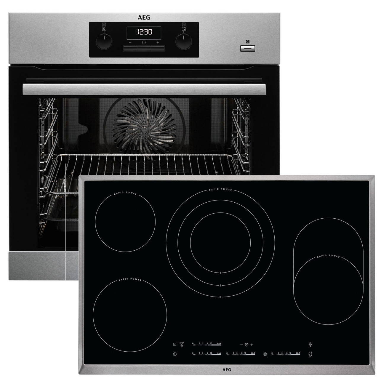 aeg beb353 backofen set beb351010m backofen hk854870x b autark ceran kochfel ebay. Black Bedroom Furniture Sets. Home Design Ideas