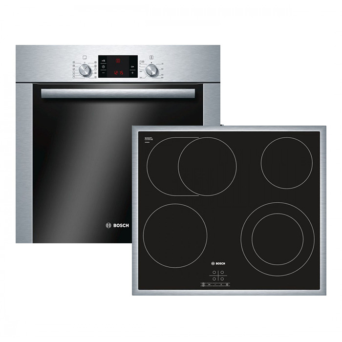 bosch hbd72cs50 backofen set bestehend aus backofen. Black Bedroom Furniture Sets. Home Design Ideas