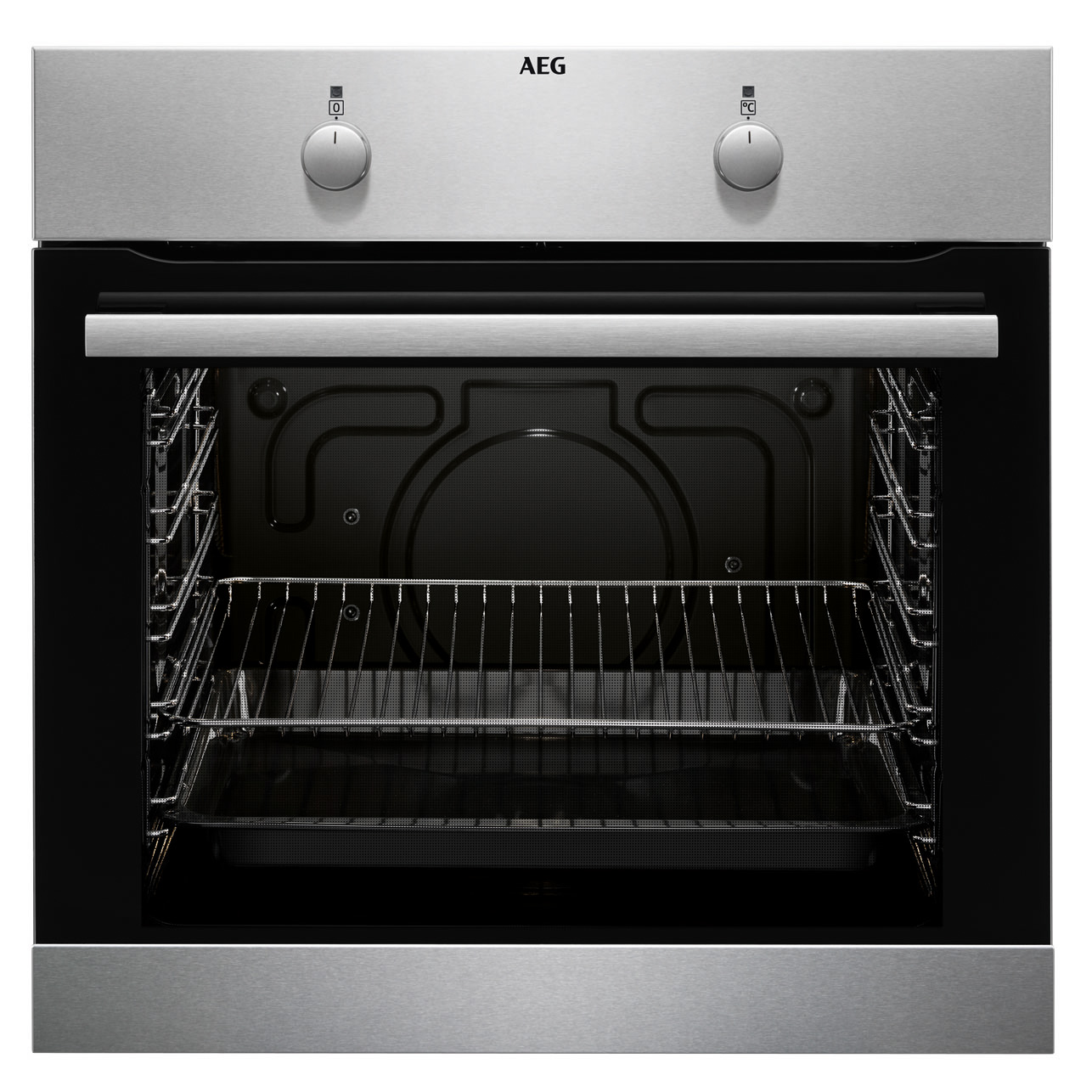 aeg einbauherd backofen beb100010m competence stainless steel with antifinge ebay. Black Bedroom Furniture Sets. Home Design Ideas
