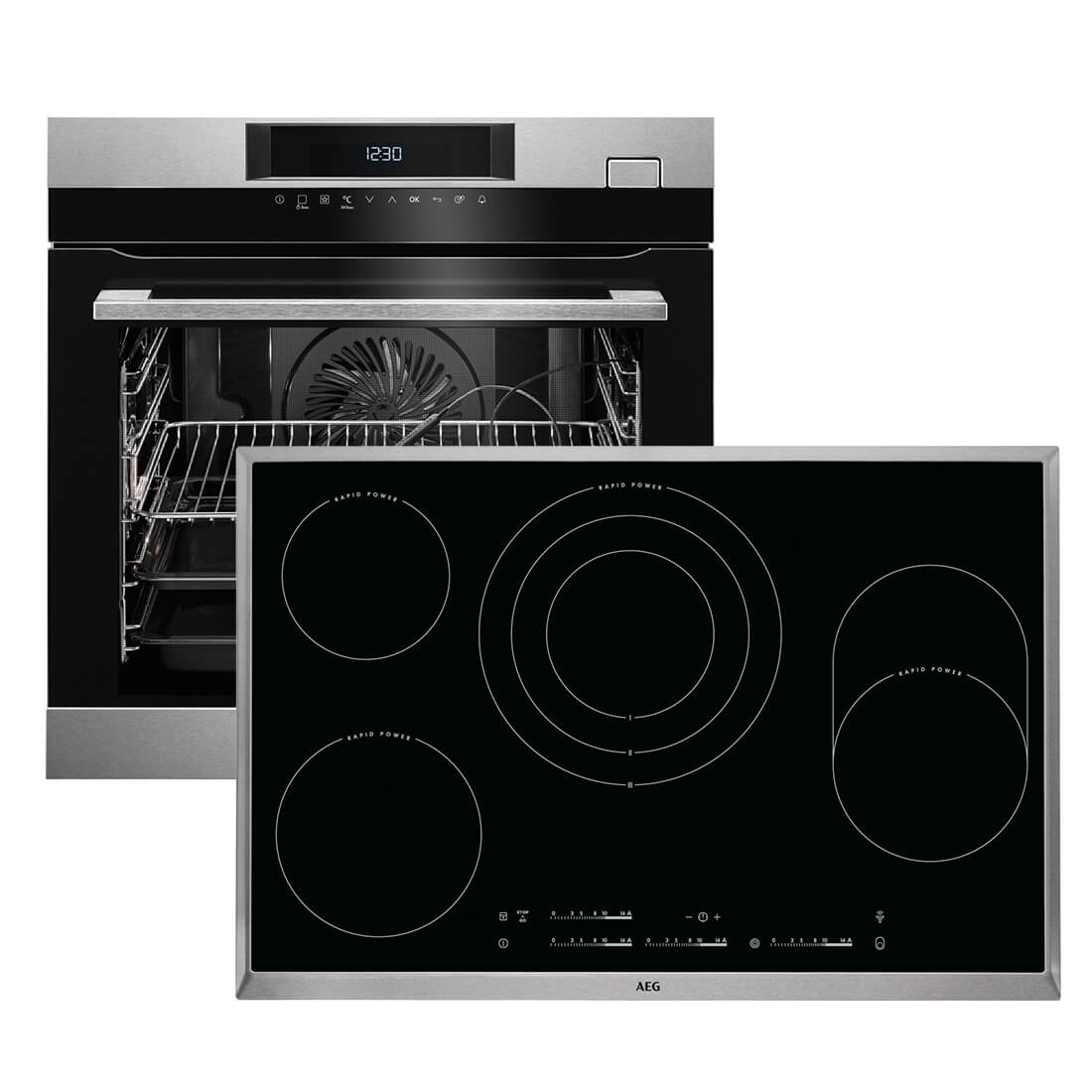 aeg bsk773 backofen set bsk774220m backofen hk854870x. Black Bedroom Furniture Sets. Home Design Ideas